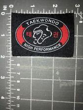 Taekwondo Tae Kwon Do High Performance Patch Korean Martial Arts Head Fighting