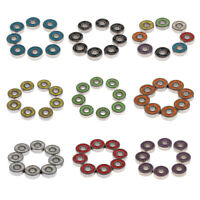 High Performance Skate Scooter Skateboard Wheel Bearings with Spacers , Washers