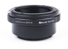 Dollice Nikon F G Lens to Sony E Mount NEX Camera Lens Adapter  A7s A7R A6000