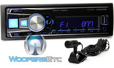 ALPINE UTE-62BT BLUETOOTH MP3 USB IPOD WMA AUX IPHONE EQUALIZER CAR STEREO NEW