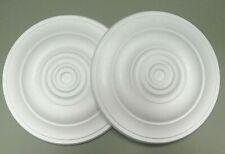 Decorators Bargain - 2 x Polystyrene Ceiling Rose 400mm ^^^ FREE P&P Shop Soiled