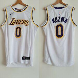 Kyle Kuzma NBA Basketball Los Angeles Lakers Swingman White Jersey Nike Size M