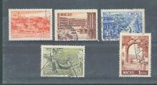 More details for macao 1950 new colours sg.429, 431-4 used
