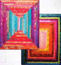 Big Block Jelly Logs - quick & easy pieced quilt PATTERN - Hunters Design Studio