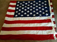 Vintage US American 50 Star Flag 5' X 9-1/2' Cotton Valley Forge Flag Co.