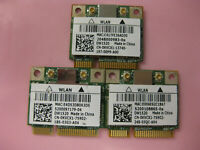 ( Lot of 3 ) Dell DW1520 KVCX1 dual band 802.11n BCM43224 PCIe Half BCM943224HMS