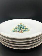 Hutschenreuther Hohenberg Germany 1814 Christmas Plates Set of 5 Vintage Holiday