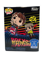 Funko Pop! Back to the Future T-Shirt (Hover Board XL) with Marty POP Figure NEW