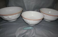 Antica Fornace 3 Bowl Ceramiche Da Tavola White Ceramic Bowl Set Fruit Theme