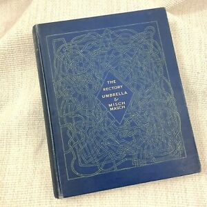 1932 Rare First Edition Lewis Carroll Book THE RECTORY UMBRELLA AND MISCHMASCH