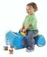 Fisher Price Gobble & Go Hippo Walker Ride-On Peek-a-Blocks Toy 2004 NEW BOX