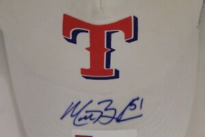 Matt Bush 2004 1/1 Texas Rangers Signed Autographed Snap Back Nike Hat