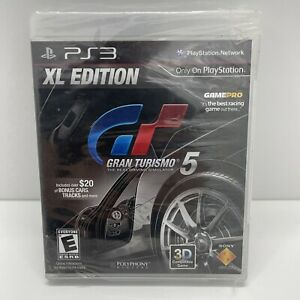 Gran Turismo 5 XL Edition Sony PlayStation 3 PS3 Brand New Factory Sealed