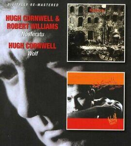 Hugh Cornwell - Nosferatu (with Robert Williams) / Wolf (2012) CD NEW SPEEDYPOST