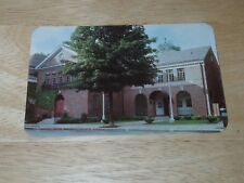 Vintage National Baseball Hall of Fame MLB HOF Cooperstown New York Postcard New