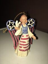 Nwt Roman American Angel Accents Angel with Dove 71383 Ornament