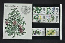 1967 BRITISH WILD FLOWERS, Presentation Pack, phosphor stamps, Cat £20.