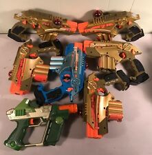 Nerf Lazer Tag Phoenix LTX Guns Tiger LOT 6. 1 Later Tag AS IS No Battery Comp.