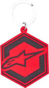 Alpinestars Ignition Keyfob Key Chain Red/Black 1015-94004-3010