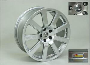 MTM Bimoto Felge 9,5x19 ET 30 25 Silber Shiny 5x112 57,1 Audi VW Alufelge