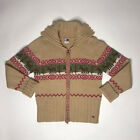vtg 2003 tommy hilfiger jeans Ugly Xmas Sweater Womens L Christmas Jacket Coat