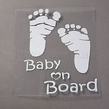 Waterproof BABY ON BOARD VINYL DECAL For Auto Cars & Window Vehicle Sticker