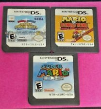 Super Mario 64, Sonic Winter Olympics, Donkey DK Nintendo DS Lite 3DS 2DS 3 Game