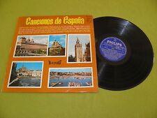 """Alfredo y sus Amigos - Canciones De Espana RARE 1966 """"Philips Hi Fi Stereo"""" Folk"""