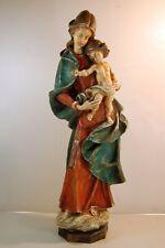Große , sehr schöne Figur aus Achatit / Madonna / Höhe 56 cm.