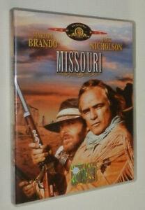 Arthur Penn MISSOURI (1976) Marlon Brando, Jack Nicholson dvd EDIZIONE ITALIANA