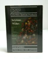 NEW NOS Columbia Special Products 8 Track Christmas Wishes 1977