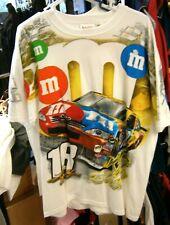 CHASE #18 TEE SHIRT KYLE BUSCH TEAM CAR TOTAL PRINT TEE M&M'S XL EXTRA LARGE NWT