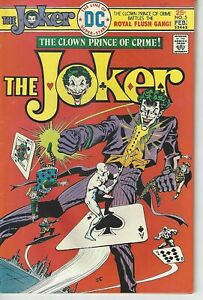 The Joker #5 DC Comics 1976 VF+ Royal Flush Gang VF
