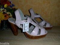 Laura Kent Plateau Sandalette NEU Gr. 41 in rosa & Lack  ANSEHEN LOHNT!