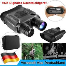 7X Zoom Nachtsichtgerät 850nm Infrarot 31mm Binokular Camcorder Kamera 400m C1O0