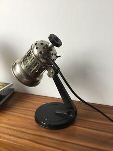 INDUSTRIAL vintage 1960's table LAMP