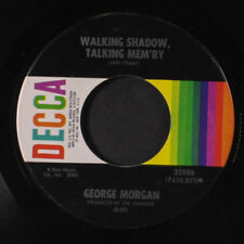 GEORGE MORGAN: Gentle Rains Of Home / Walking Shadow 45 Country