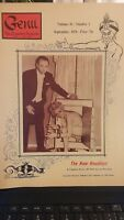 Vintage Genii Magazine THE NEW HOUDINI 1970 ISSUE