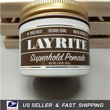 [ LAYRITE ] Super Hold Pomade 4.25oz