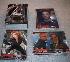 AVENGERS Age of Ultron  Complete Trading Card BASE Set  Marvel