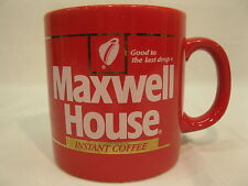 Maxwell House Good To The Last Drop Fire Engine Red Coffee Mug Made in England