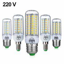 E27 LED Lamp E14 LED Bulb SMD5730 220V Corn Bulb 24 36 48 56 69 72LEDs Chandelie