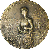 France Bronze Medal L' Horticulture Rasumny Brundy 1927 AU 45mm
