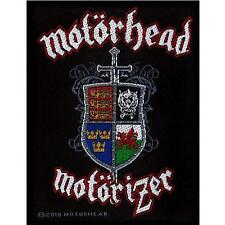 OFFICIAL LICENSED - MOTORHEAD - MOTORIZER SEW ON PATCH METAL LEMMY