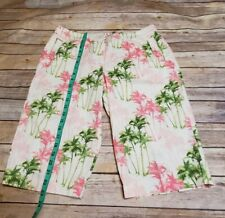 Tommy Bahama Women's  Tropical  floral Stretch Shorts Size 10
