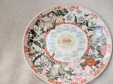 "Pantalla Coleccionable placa Wedgwood calendario 2004 Daily Mail ex Cond 9"""
