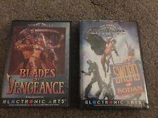 blades of vengeance sega mega drive game & Sword Of Sodan