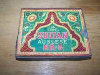 Old Tin Can Cigarette Box Cigarette Case Dresden Sultan Selection nr.8