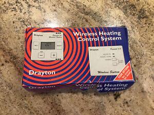 drayton digistat RF Wireless Heating Control System BNIB complete