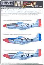 Kits World Decals 1/72 P-51 LETTERS NUMBERS & KILL MARKINGS Natural Metal Finish